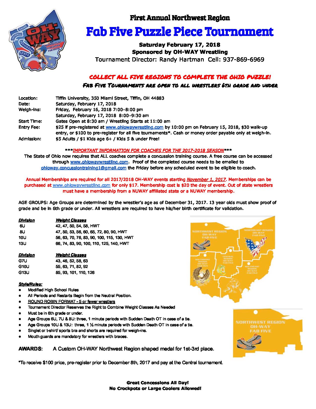First annual northwest region fab five puzzle piece tournament randy hartman xflitez Gallery