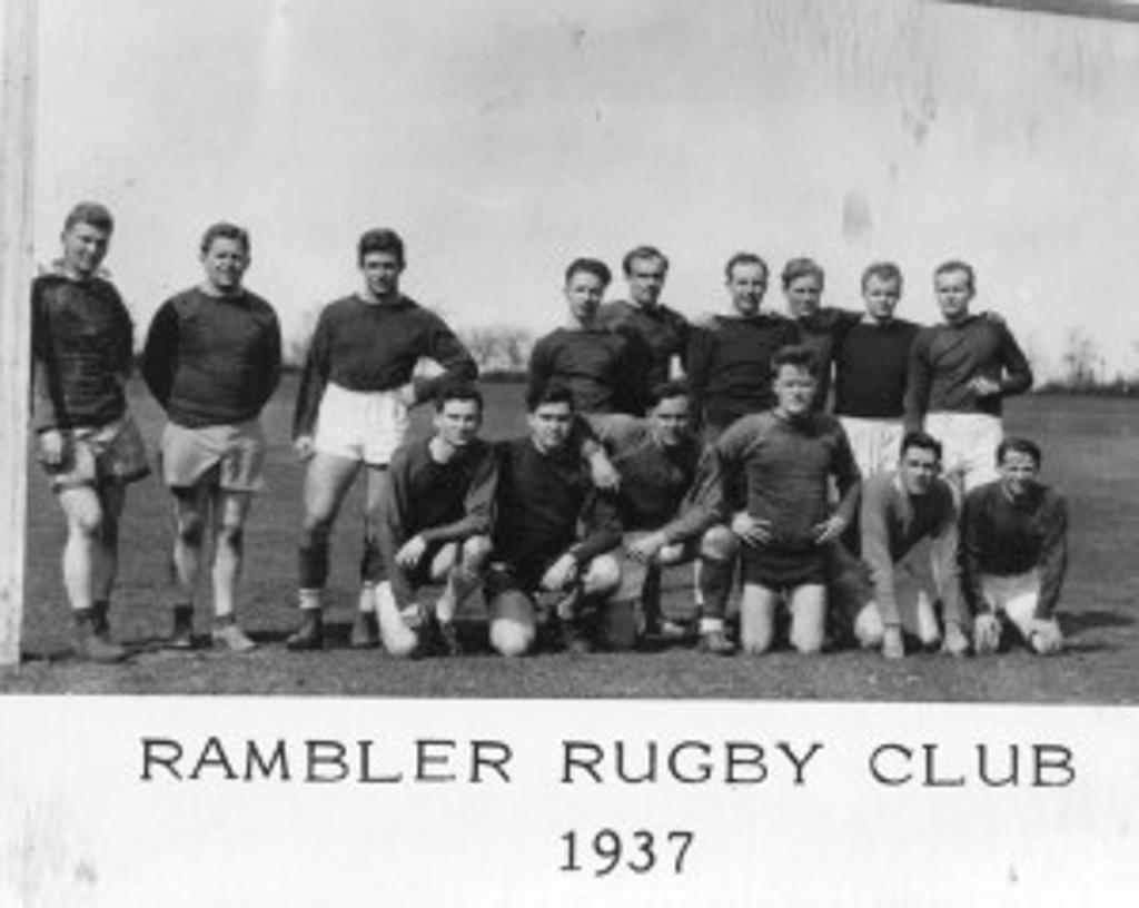 Ramblers Rugby 1937