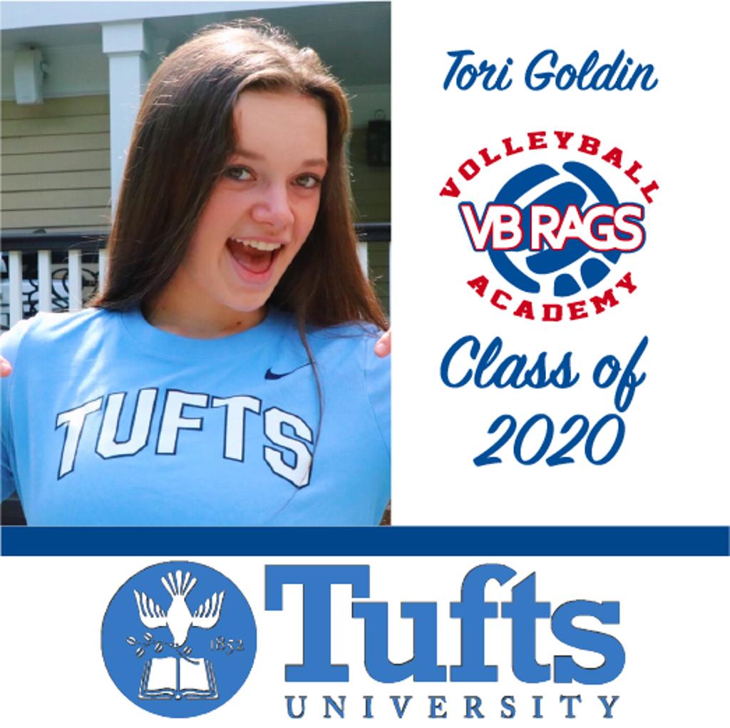 Tori Goldin - Team VB RAGS Class of 2020
