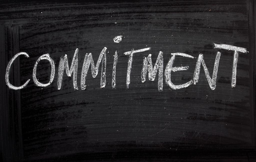 COMMITMENT: NOTHING GREAT HAPPENS WITHOUT IT