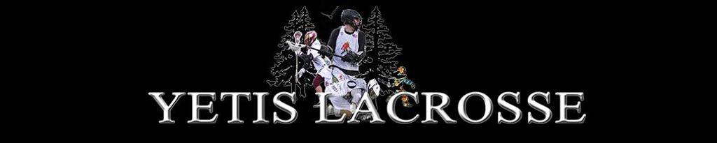Yetis Lacrosse summer 2019