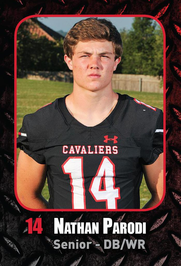DISTRICT GAME 4 vs LEANDER HS - Nathan Parodi Special Teams Player of the Week
