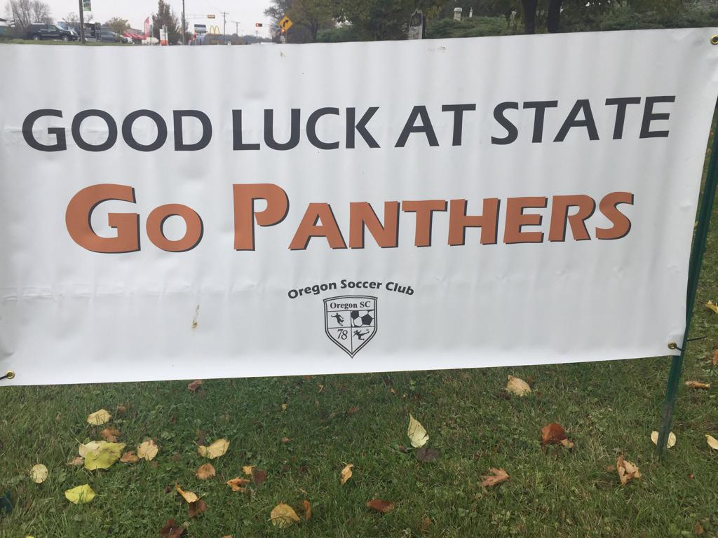 Good Luck at State Banner