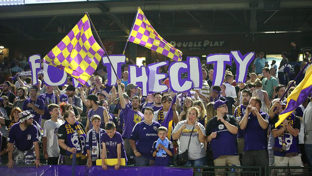 Late goal gives Louisville City its first USL championship