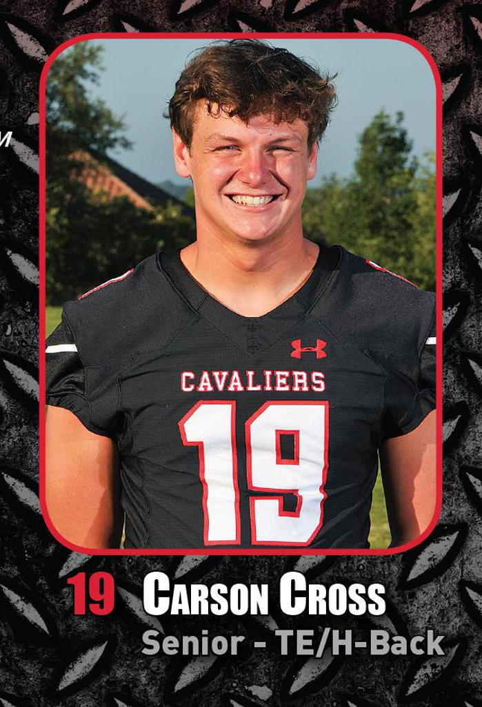 DISTRICT GAME 6 vs VANDEGRIFT HS - Special Teams Player of the Week