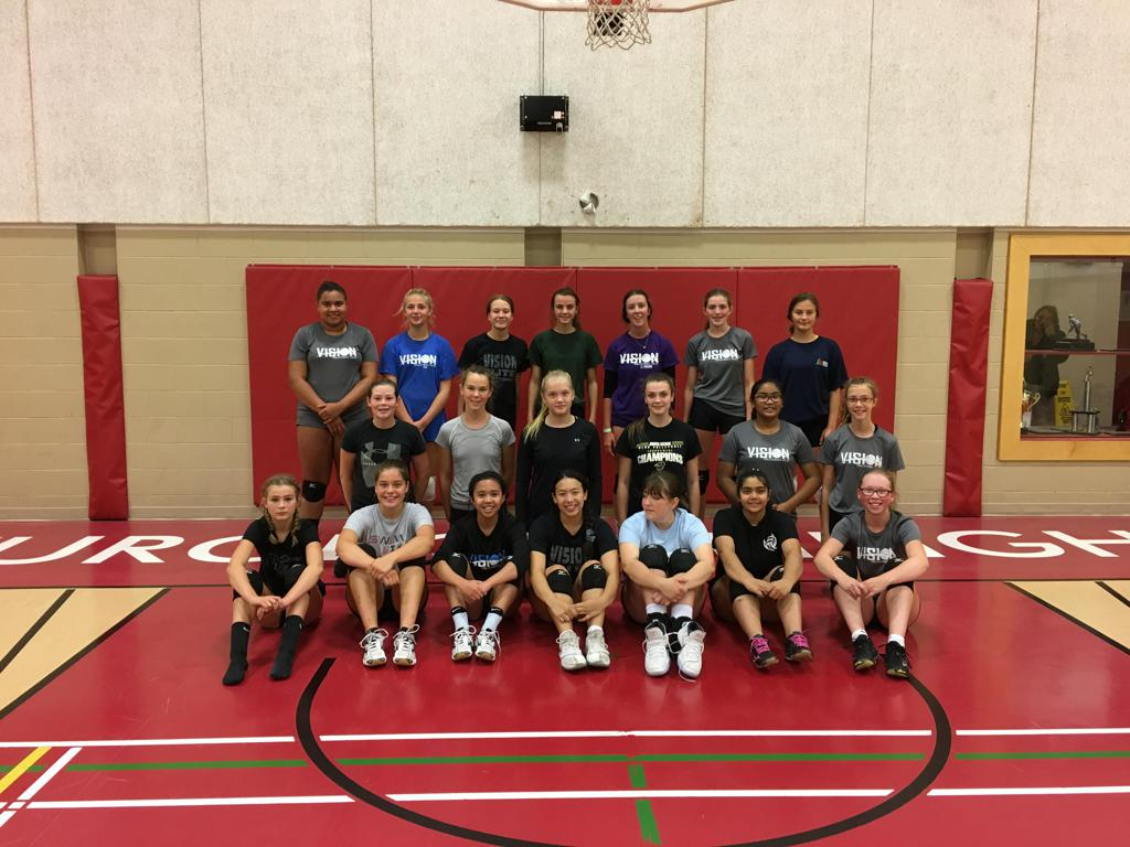 Photo of Volleyball Positional Camp in 2018