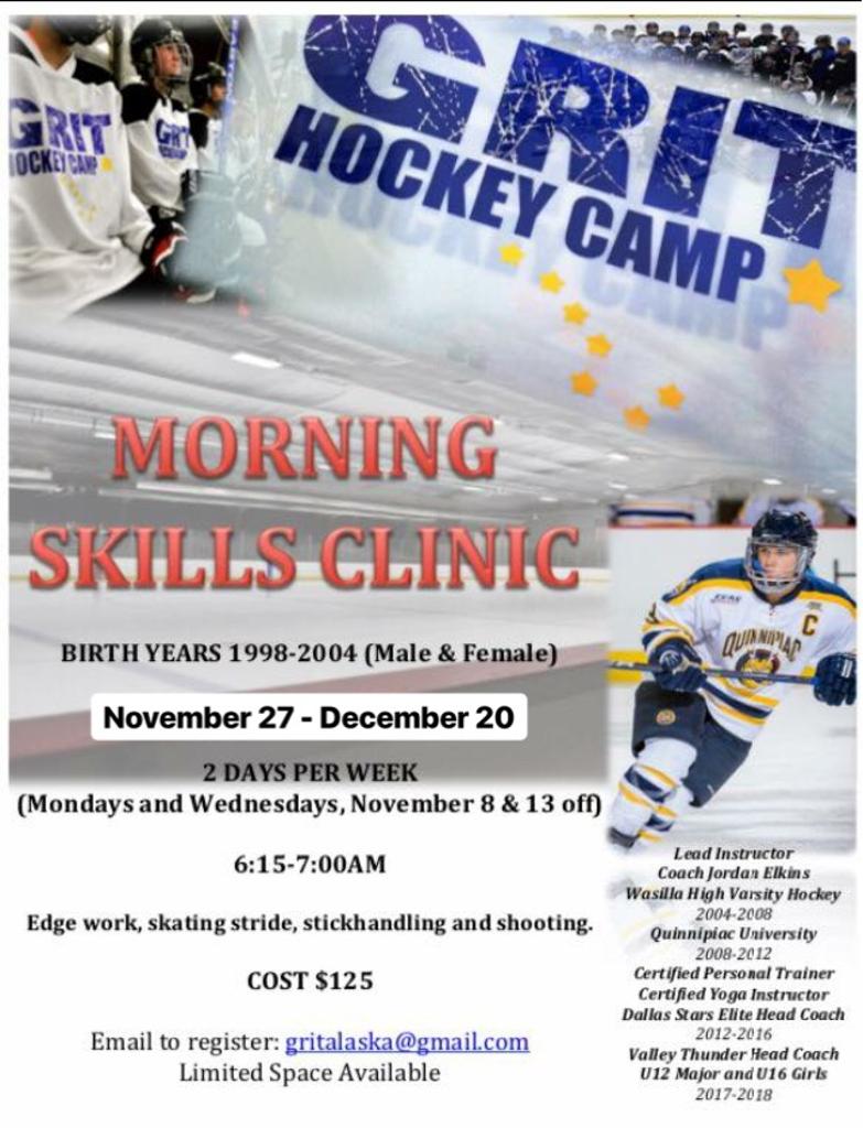 GRIT Hockey Camp Flyer