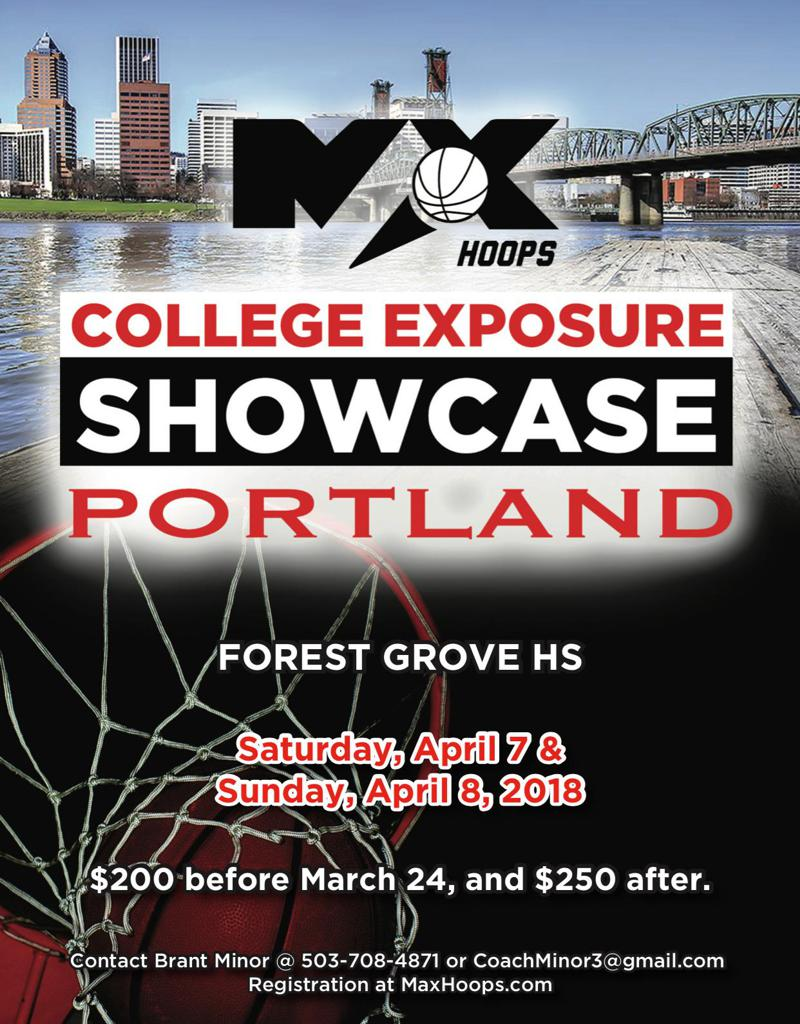 Portland, Oregon Basketball College Exposure Showcase
