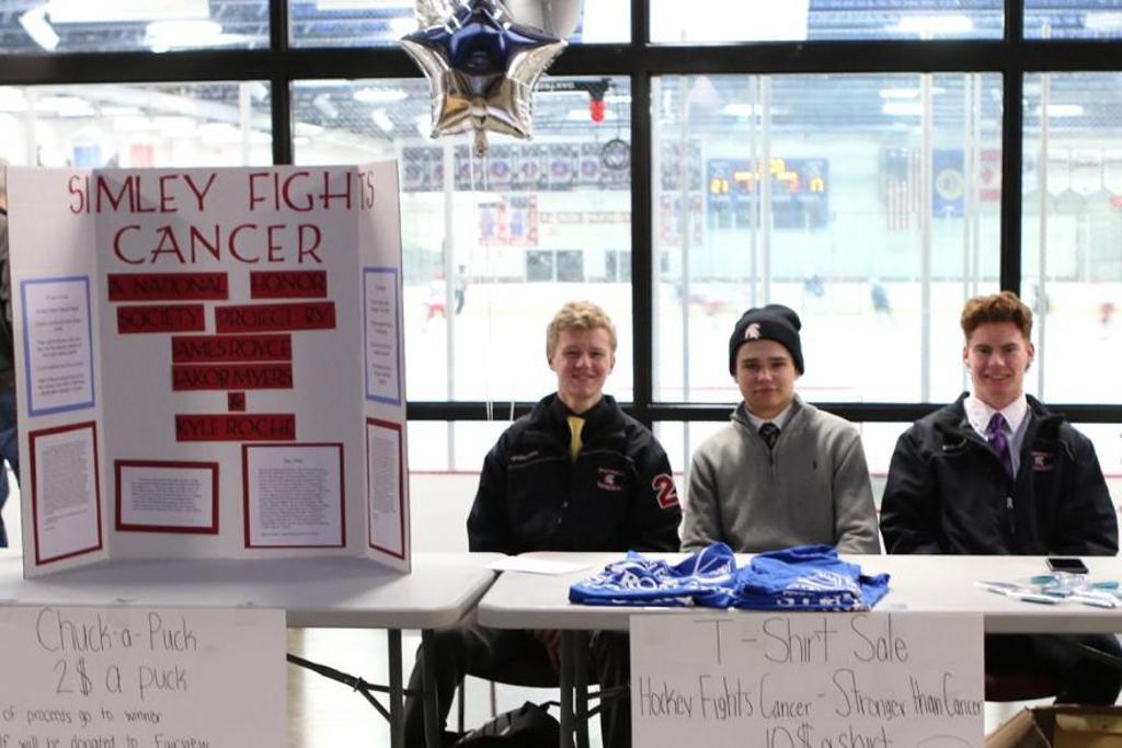 MN H.S.: Simley Boys' Hockey Fights Cancer