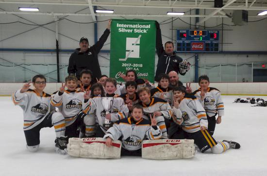 2017 Chicago Regional Silver Stick Tournament Squirt 10U AA Champions St. Peters Spirit