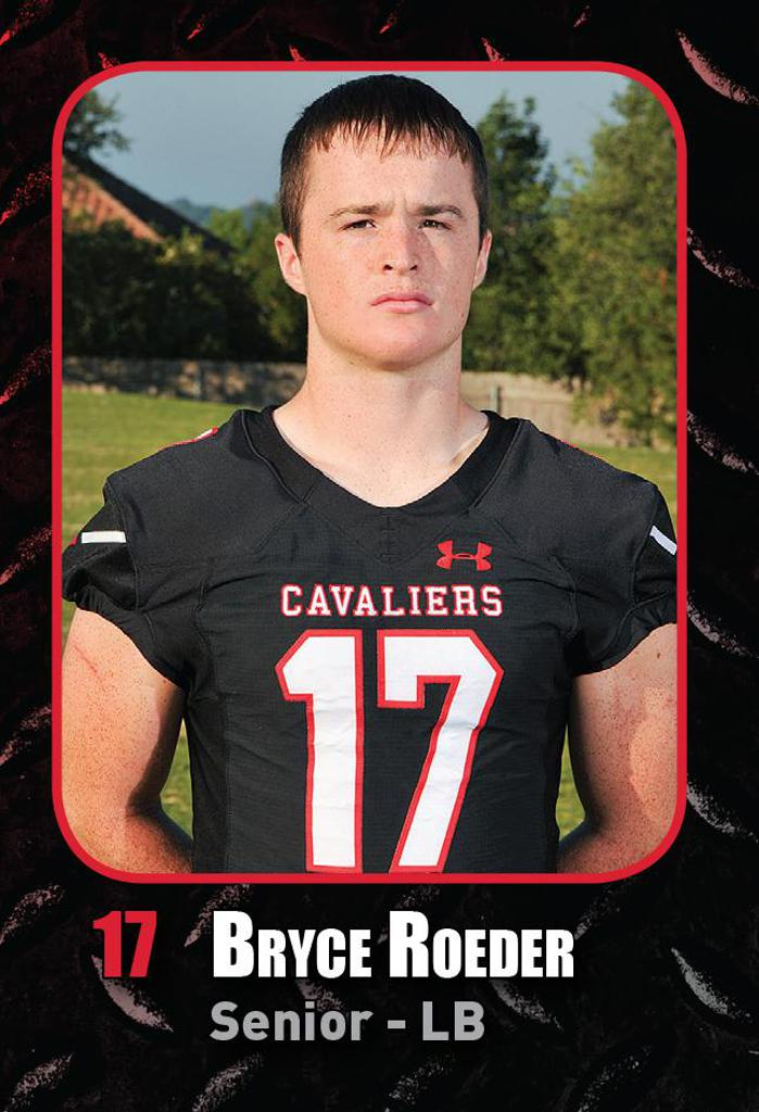 Playoff Game 4 vs O'Connor - Defensive Player of the Week BRYCE ROEDER
