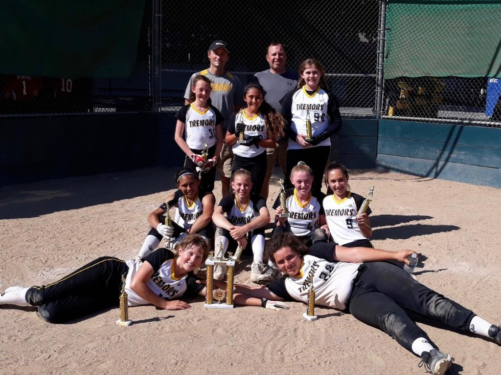 12U Gold takes Silver 1st Place San Jose Bagby Classic June 16, 2019