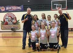 6th Grade Girls - Big Cat Champions (12/17)
