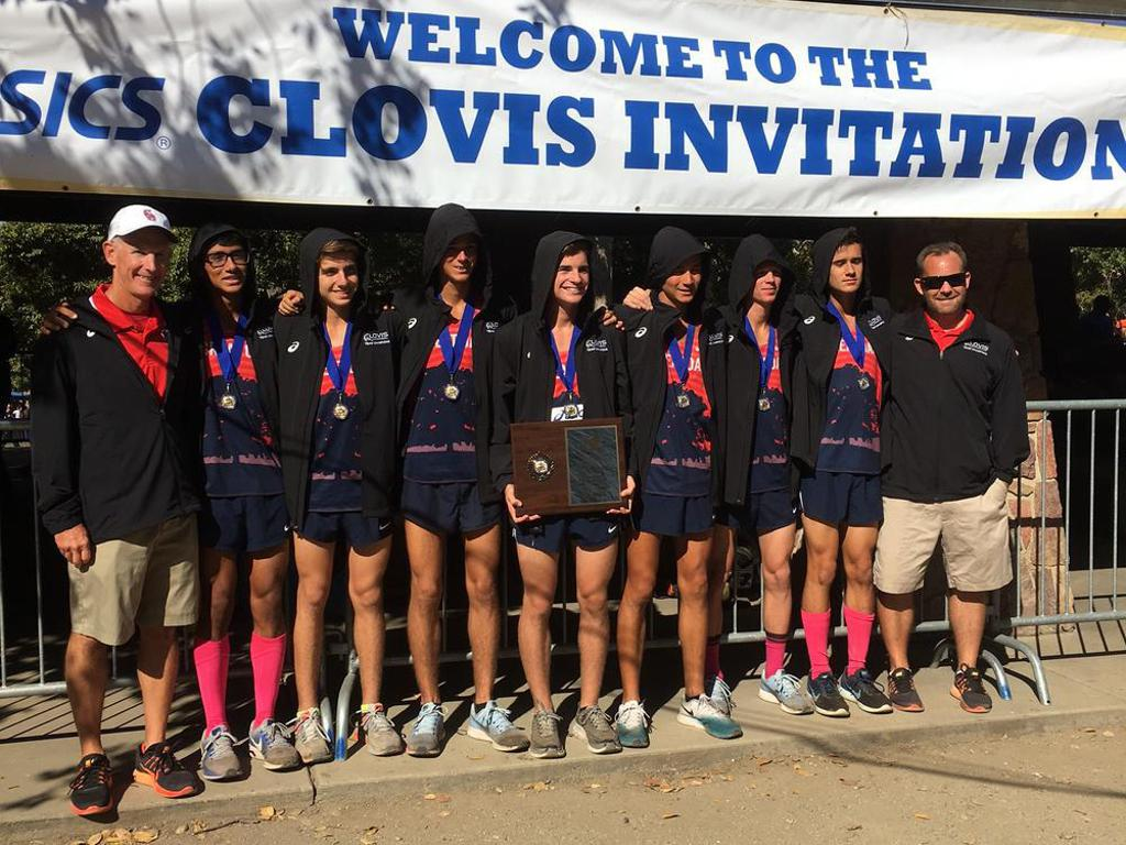 Boys Clovis Team Champions