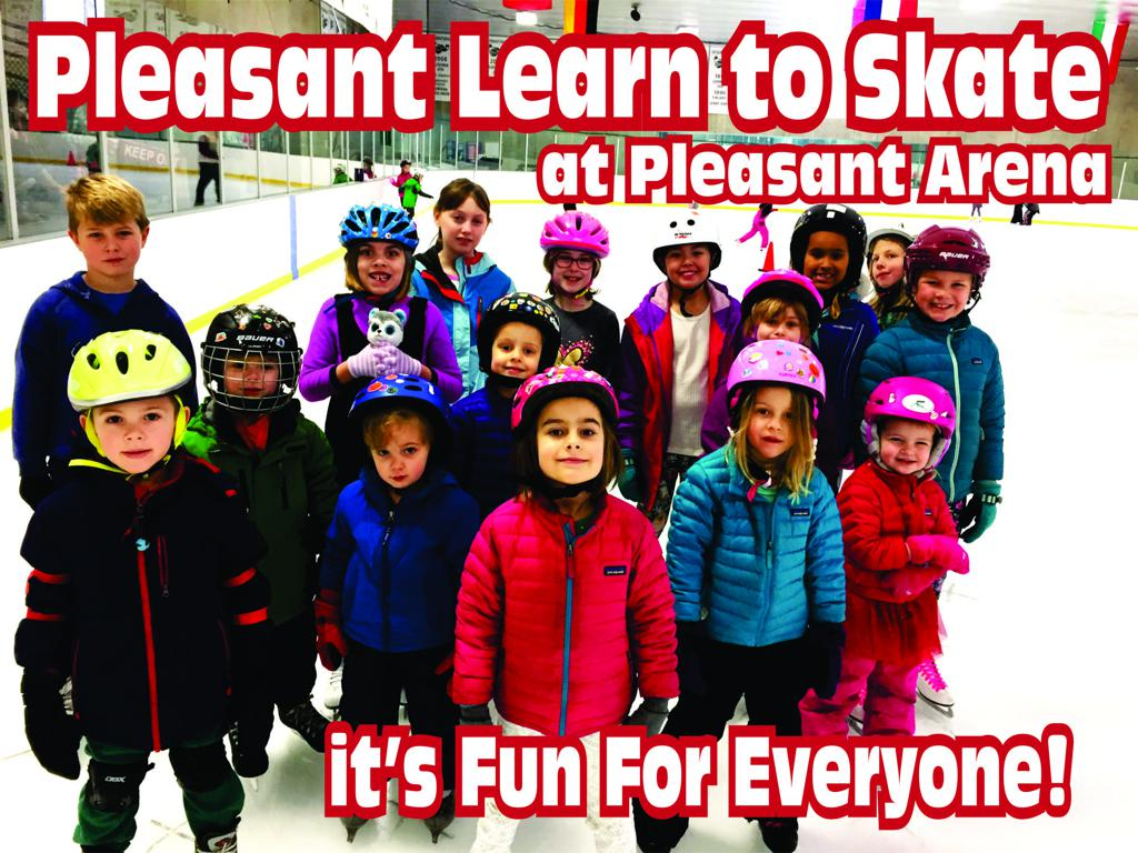 Learn to Skate Saturdays at Pleasant Arena 483bd77a255