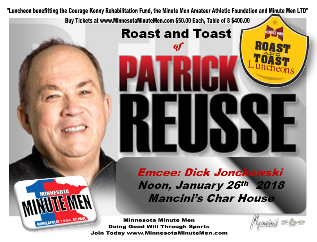 Patrick Ruesse Roast and Toast Jan 26 Noon
