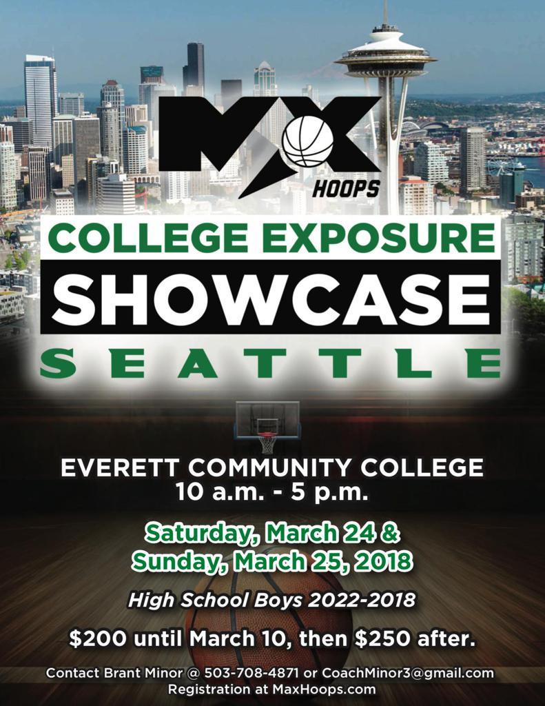 College Exposure Showcase Seattle