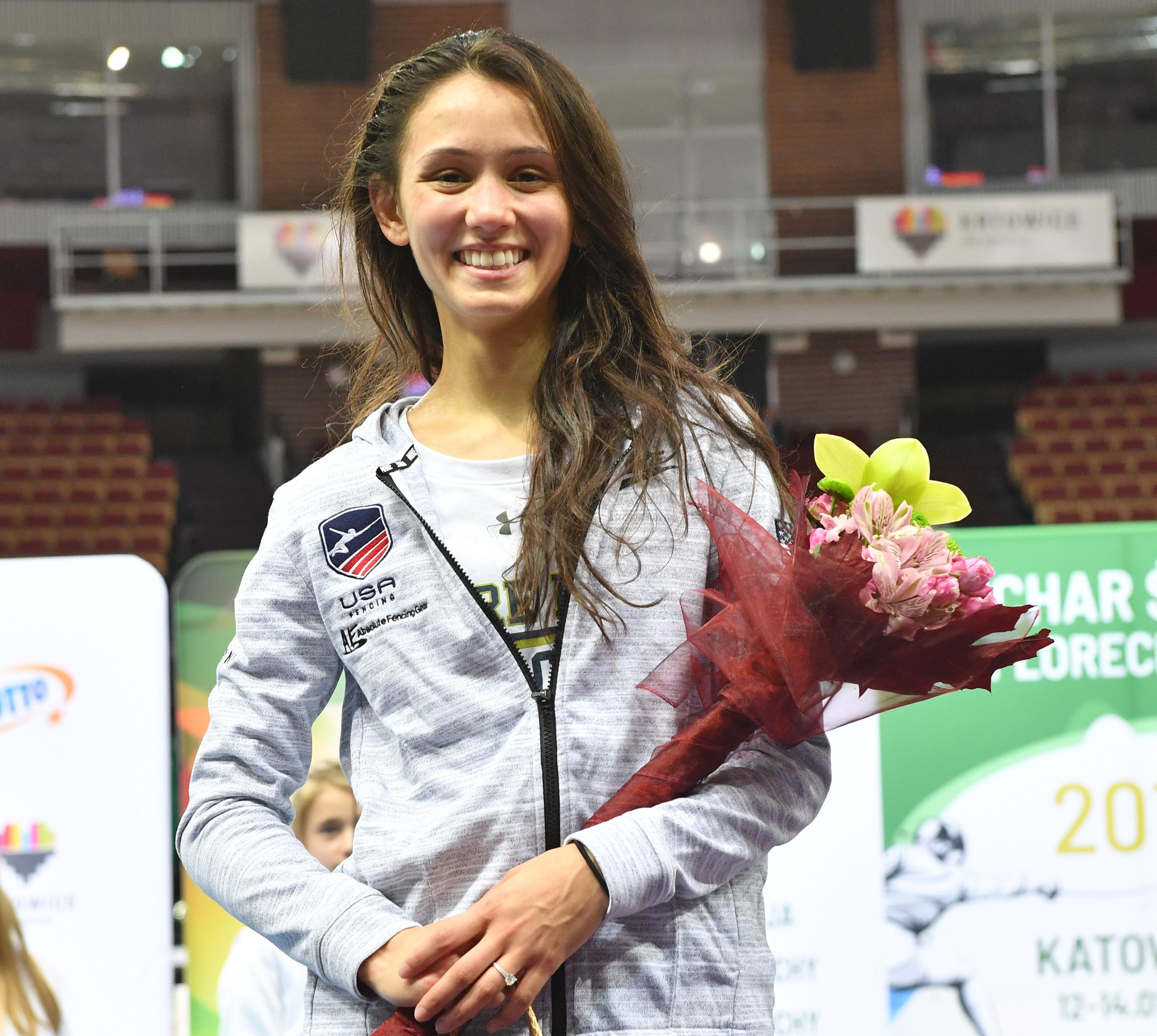 Lee Kiefer Climbs World Rankings With Silver In Katowice
