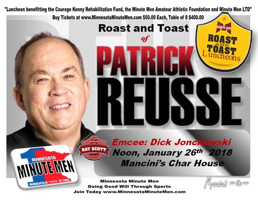 Patrick Reusse Roast and Toast Jan 26 Noon