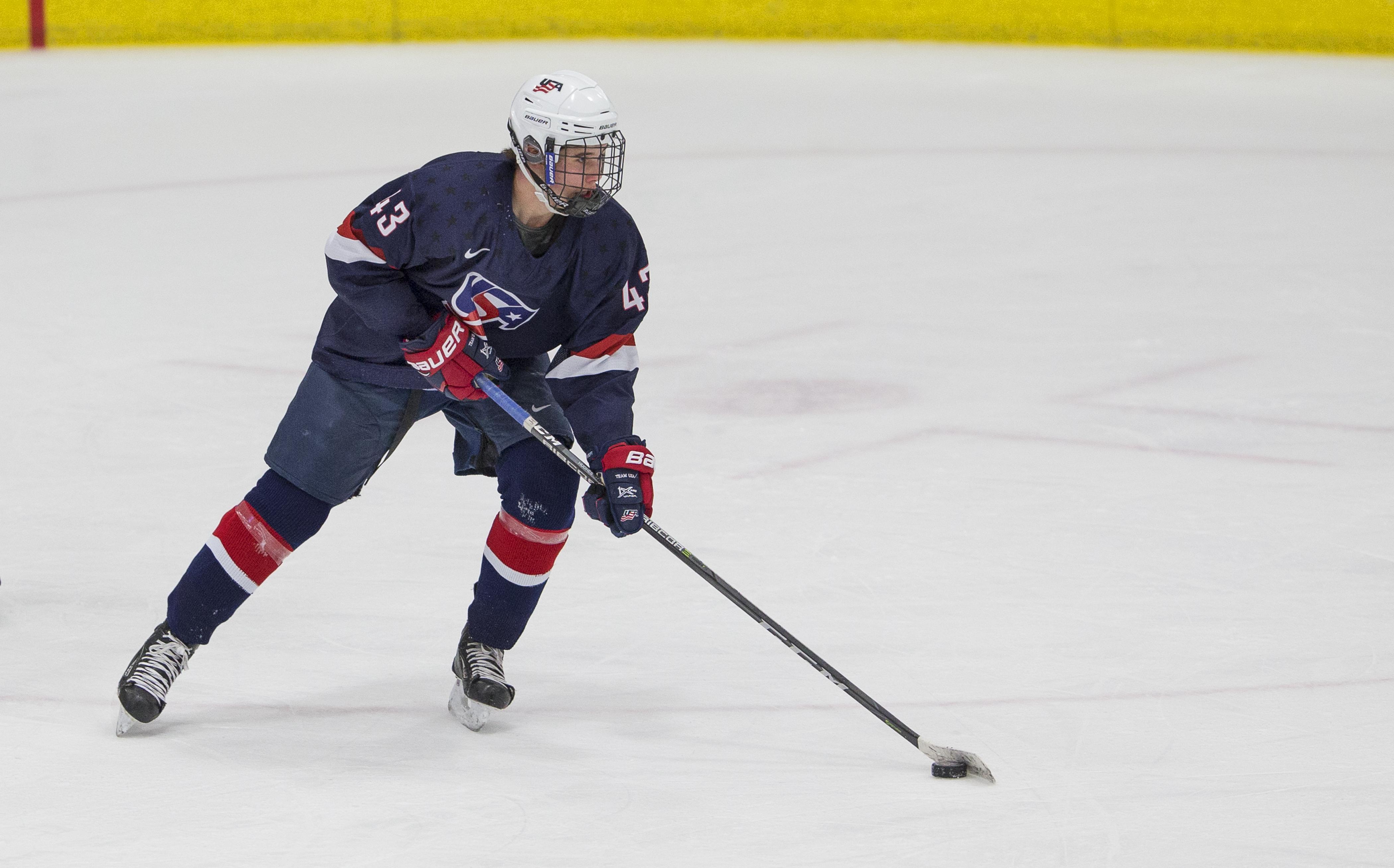 USHL: Hughes Scores Late To Push U18s Past Chicago, 4-3