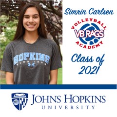 Simrin Carlsen Team VB RAGS Class of 2021