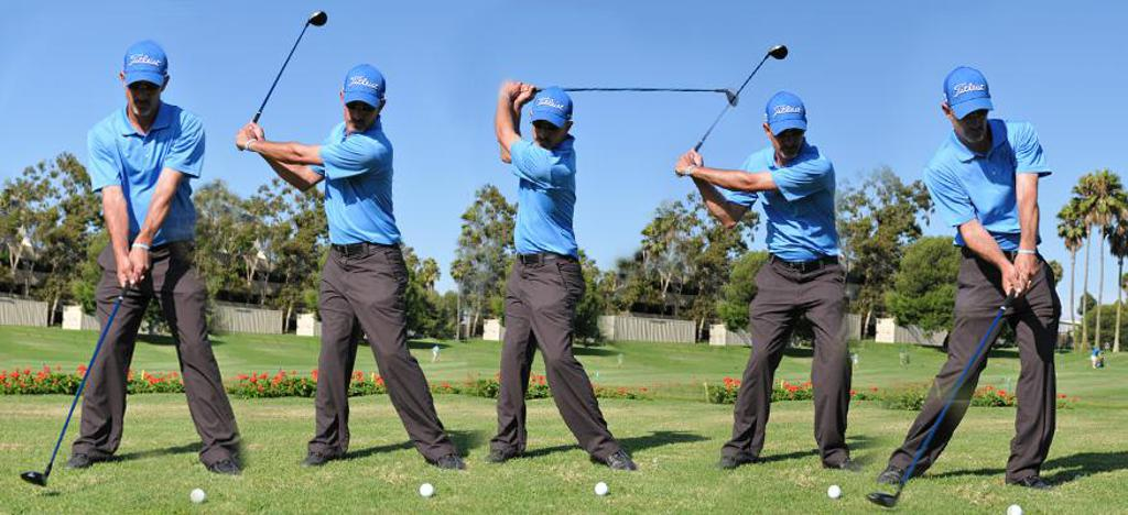Golf Pro Swing Sequence