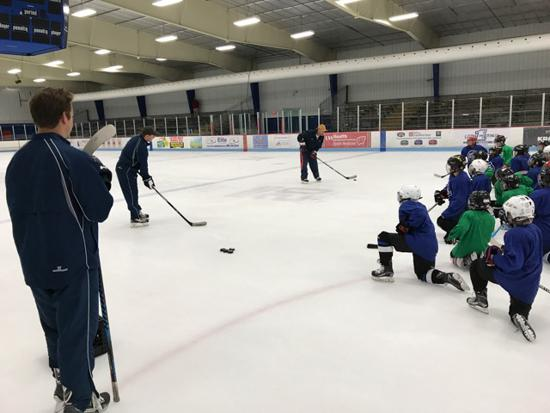 Suter's Hockey Camp: Individual Skills, Fundamentals