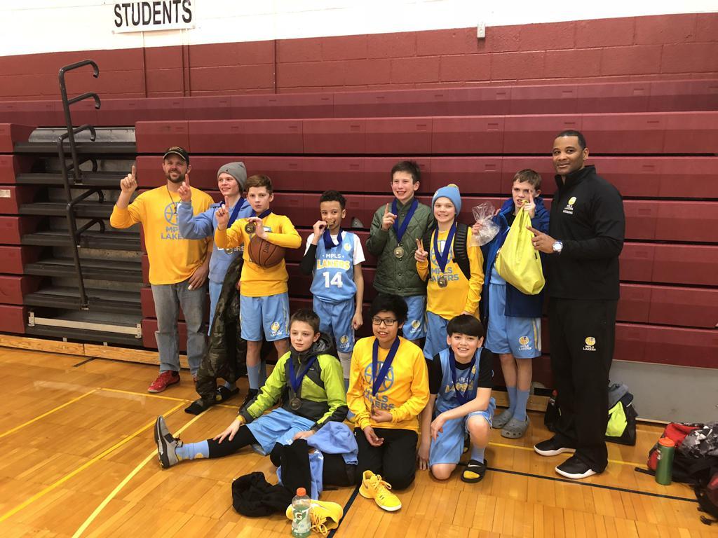 Boys 6th Grade White take 1st Place at Spartan Invitational