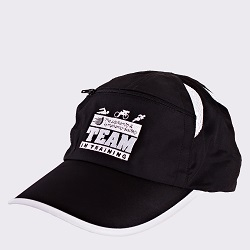 Racetrackers 6500C Zippered Runners Hat