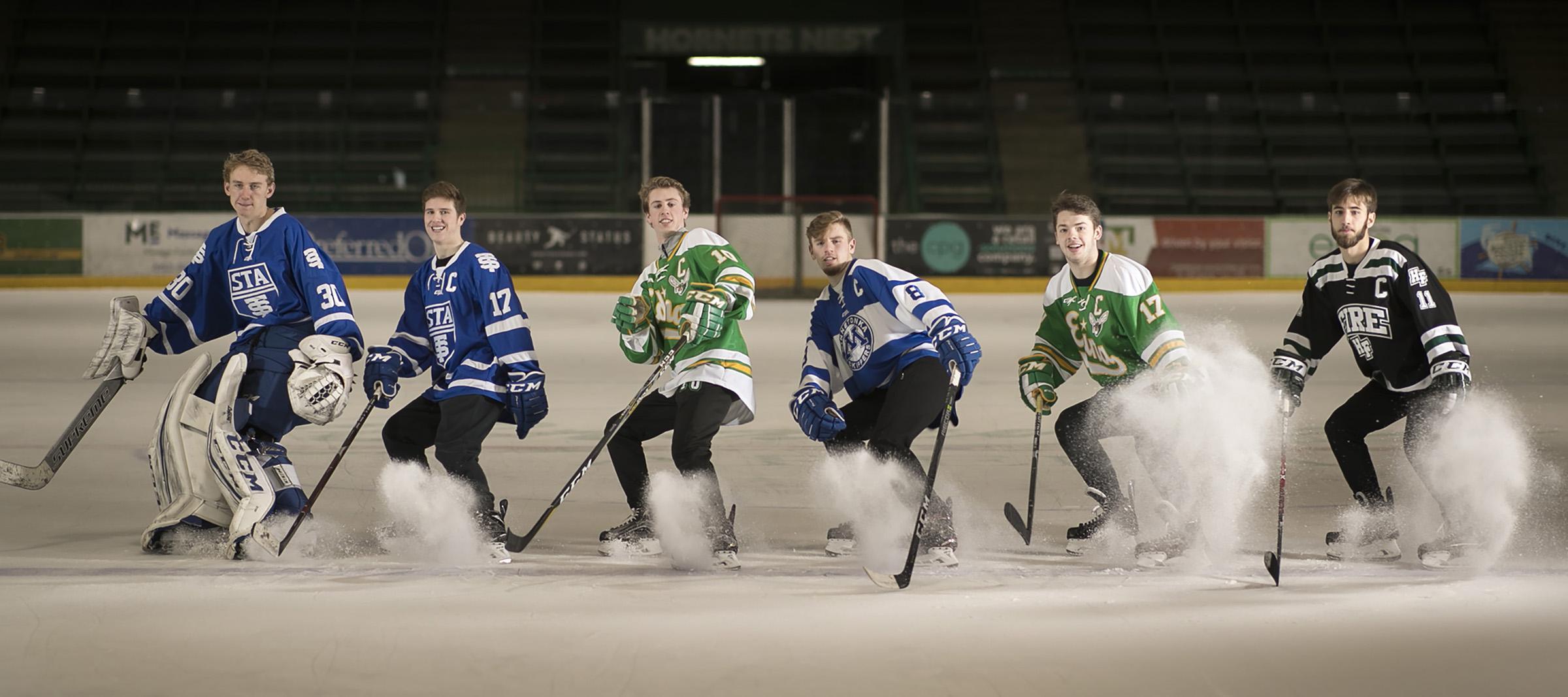 MN H.S.: Meet The 2018 Star Tribune Boys' Hockey All-Metro First Team