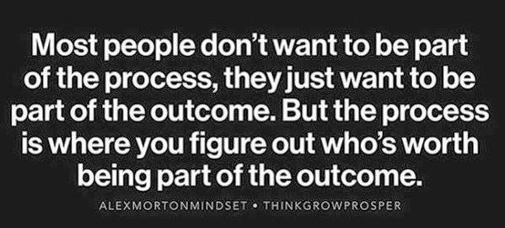 process/outcome