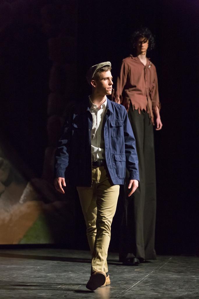 Jake Byrd portrays Edward Bloom in the Concordia theatre production of 'Big Fish.' (photo J. Kurt Schmidt)