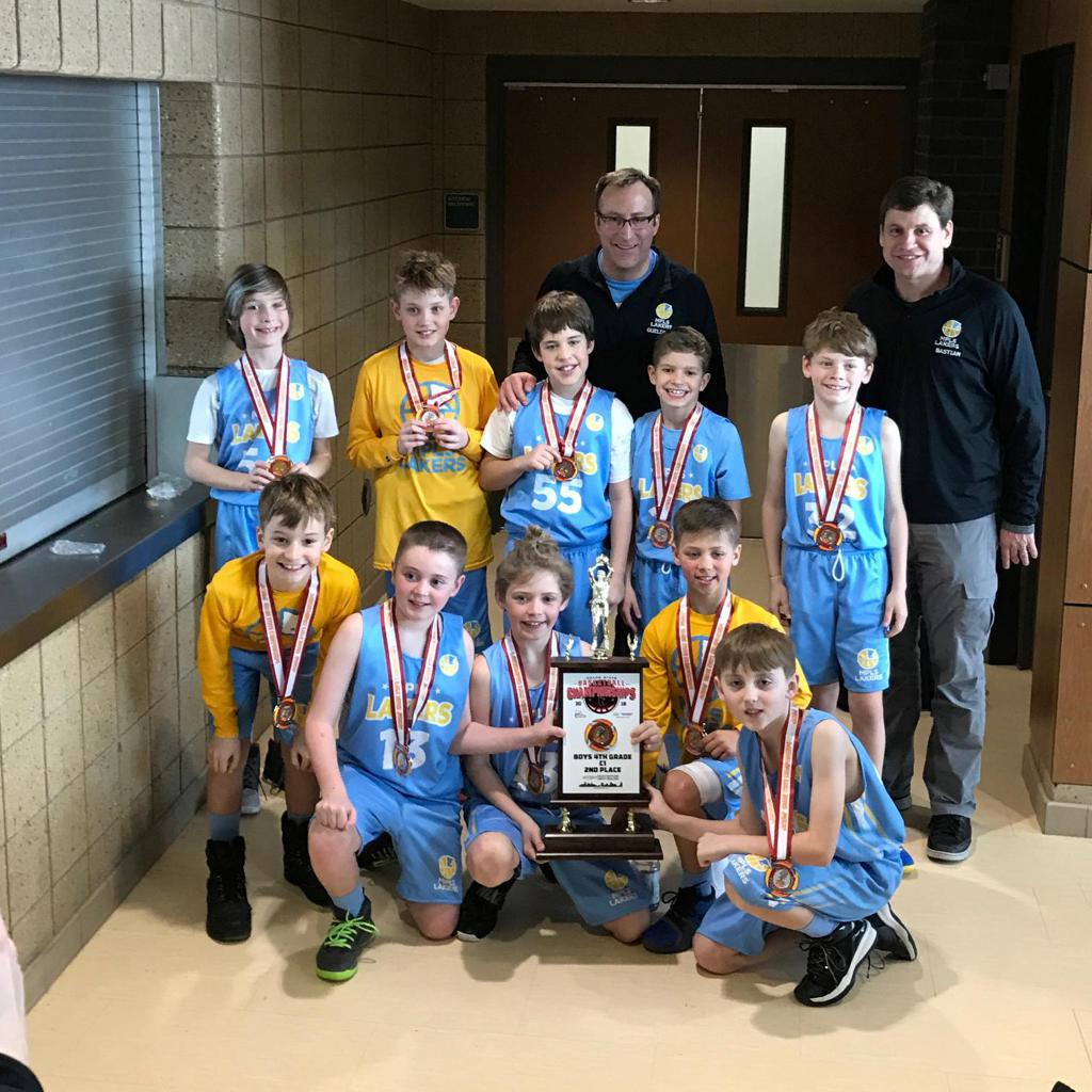 Boys 4th Grade Blue Take 2nd Place at State