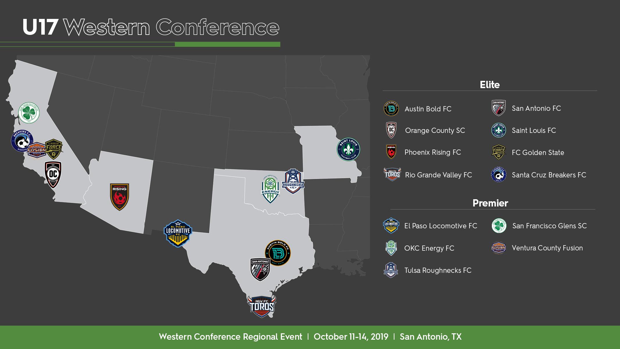 U17 Western Conference
