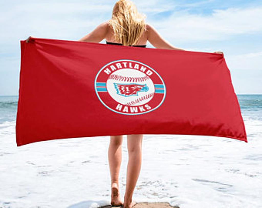 Beach Towel (red or white)