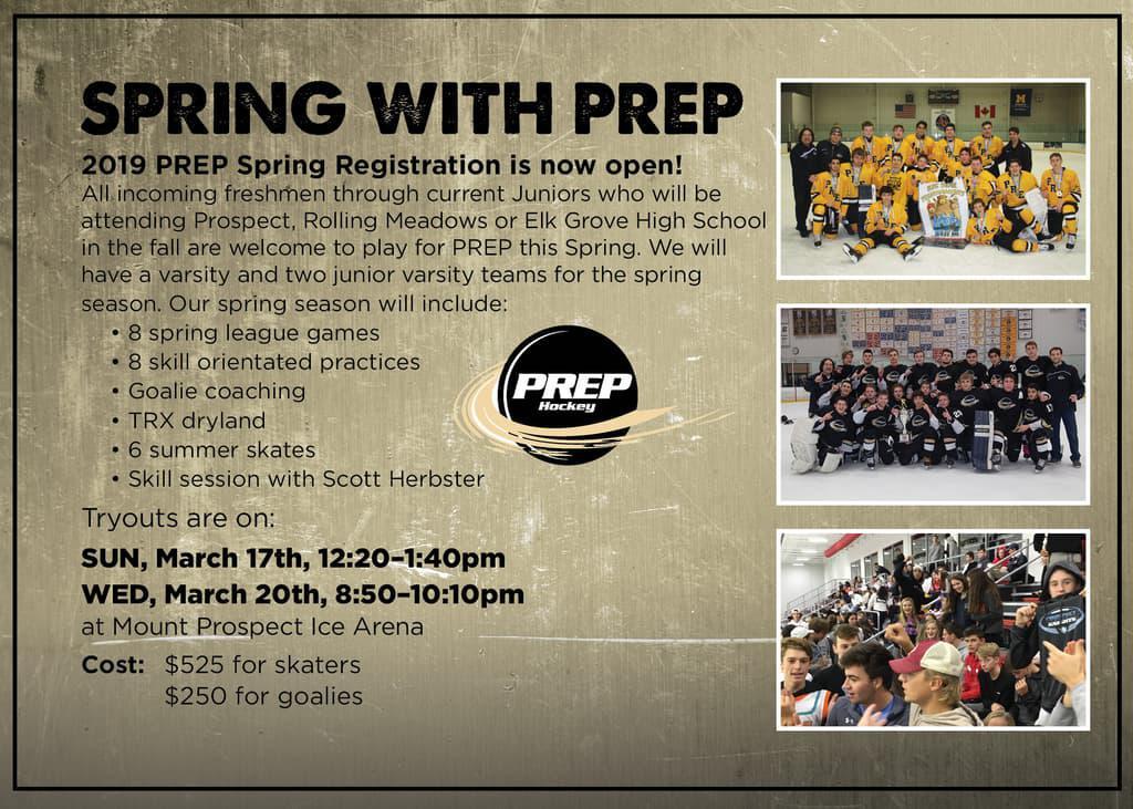 PREP Spring Hockey