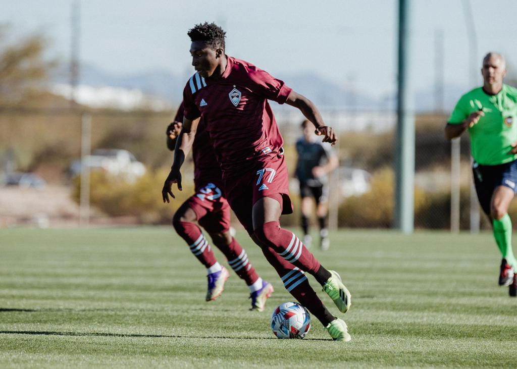 COLORADO SPRINGS SWITCHBACKS FC SIGN DARREN YAPI ON LOAN FROM COLORADO RAPIDS TO PLAY AT WEIDNER FIELD