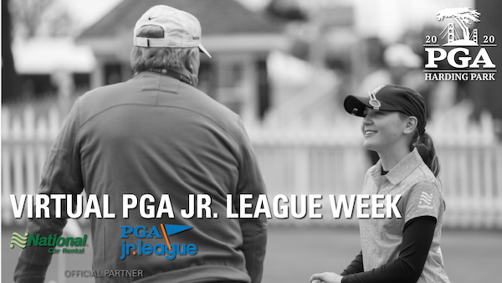 Virtual PGA Jr. League Week Header