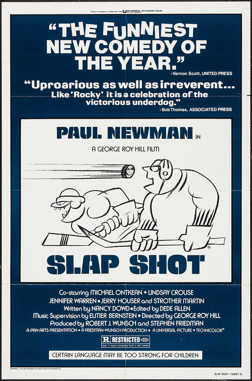 Slap Shot Original Movie Poster