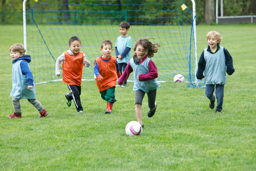 PreK Kindergarten Soccer Program in Brookline MA