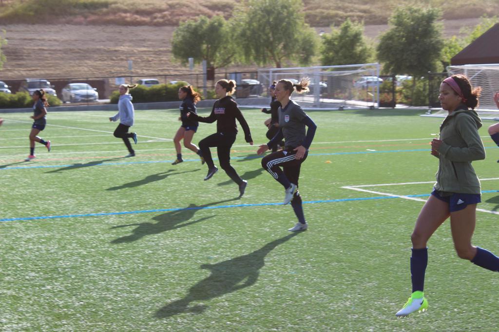 San Ramon FC Women's Premier Soccer Players