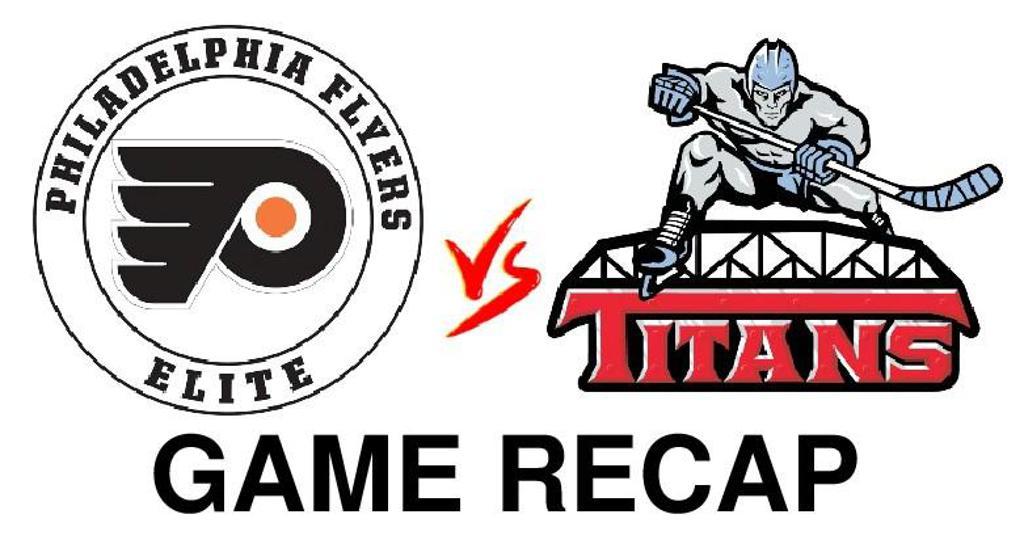 Shandel's hat trick leads 18U Premier Titans to 4 – 2 win over Flyers Elite