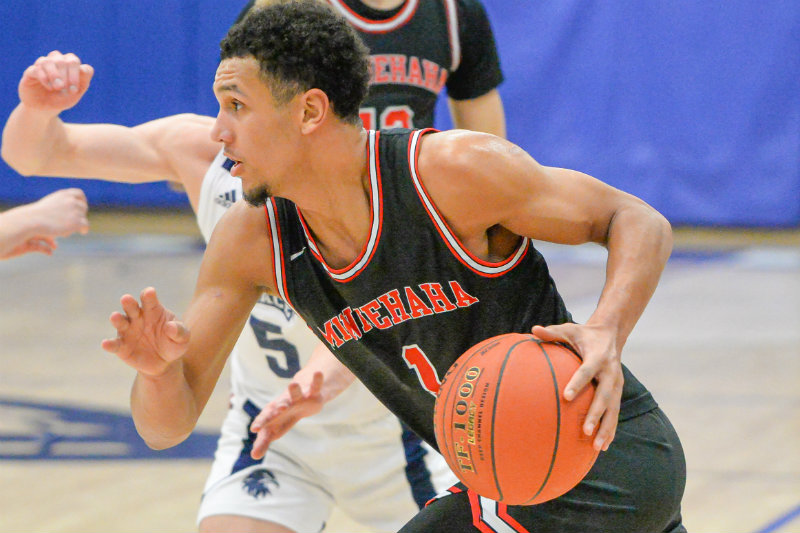 Minnehaha Academy's Jalen Suggs was announced the 2020 McDonald Award winner by the coaches' association. Suggs will continue his basketball career at Gonzaga next season. Photo by Earl J. Ebensteiner, SportsEngine