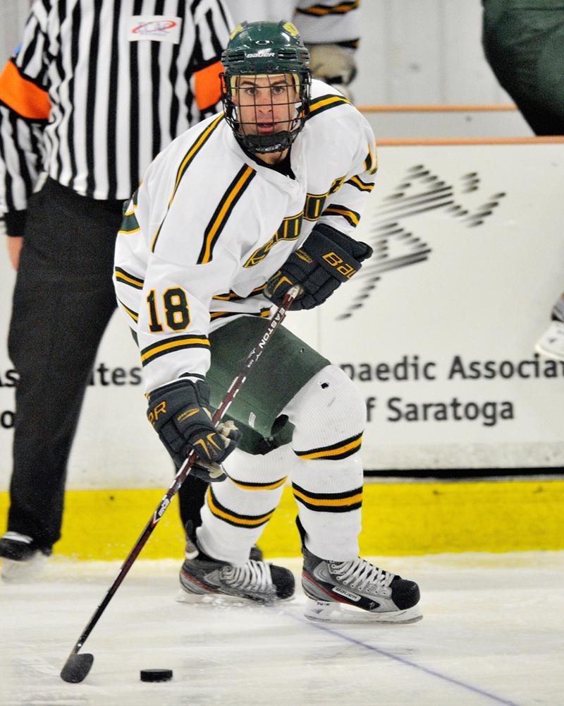 Tyler Doremus (18), the second of five sons in the family, played for NCAA Division III Skidmore College before eventually ending his playing career. Photo courtesy of Skidmore Athletics