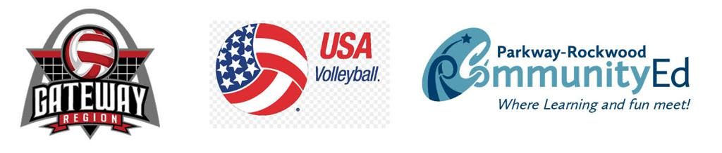 Rockwood Thunder Volleyball is associated with the Gateway Region, USA Volleyball and Parkway-Rockwood Community Ed