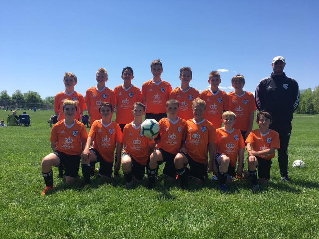2019 U13 Boys Orange