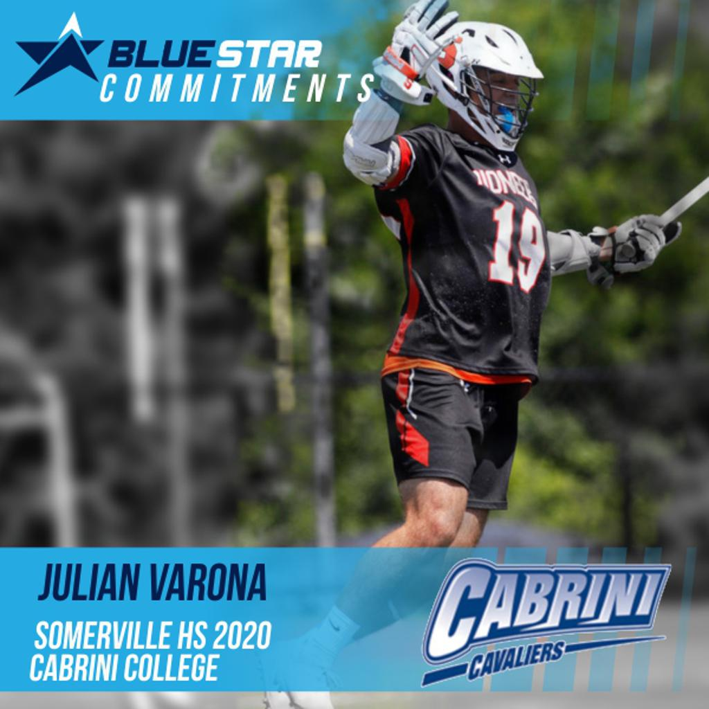 Julian Varona Blue Star Lacrosse