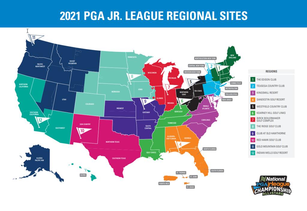 2021 Regional Map