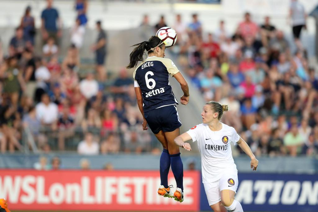 Erceg Still Going Full Speed with NC Courage After