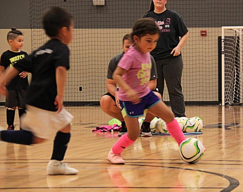 Futsal Wichita Footworx Academy youth soccer